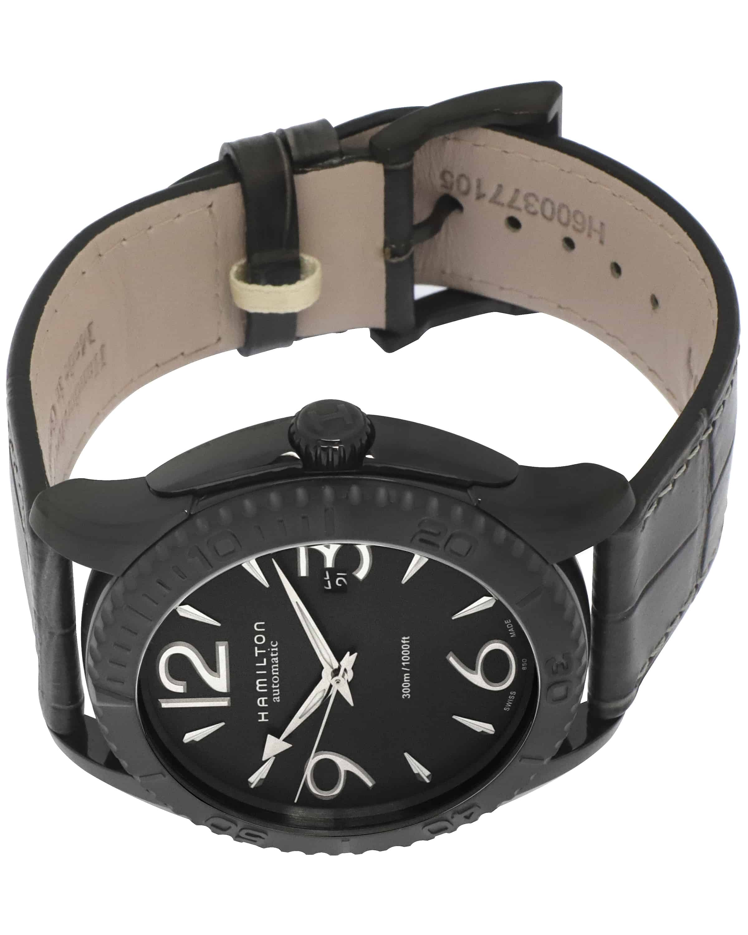 Hamilton Jazzmaster Black Pvd Stainless Steel Automatic Men's Watch H37785685