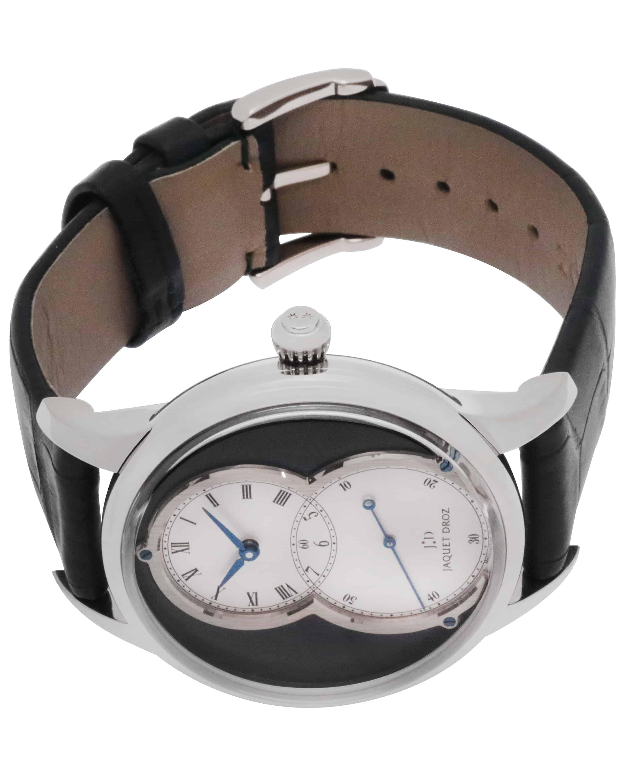 Jaquet Droz Grande Seconde Cotes De Geneve 18k White Gold Automatic Men's Watch J014014276