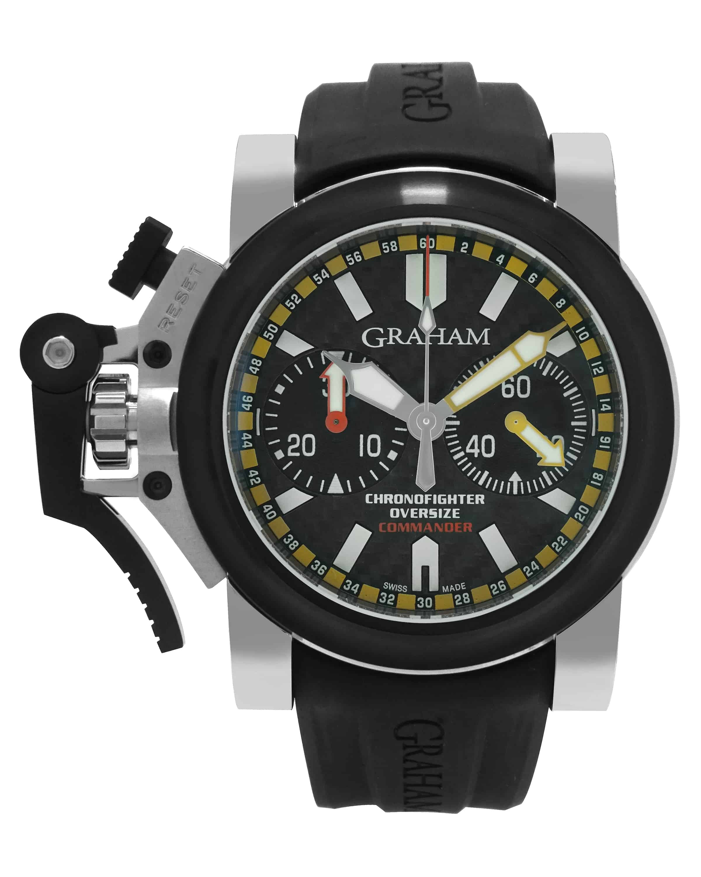 Graham Chronofighter Oversize Commander Automatic Chronograph Men's Watch 2OVBV.B01A
