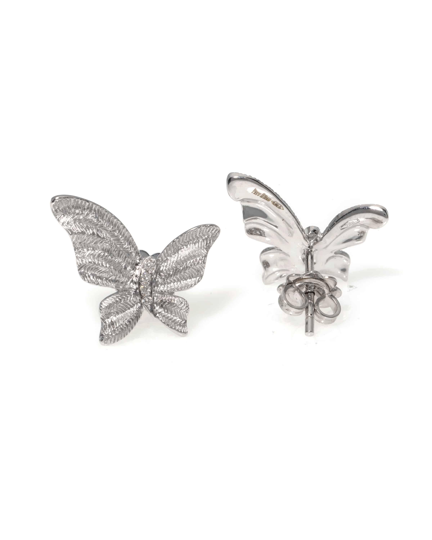 Piero Milano 18k White Gold Diamond Earrings R5110RB2