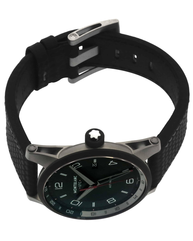 Montblanc Timewalker Gmt Automatic Men's Watch 115080