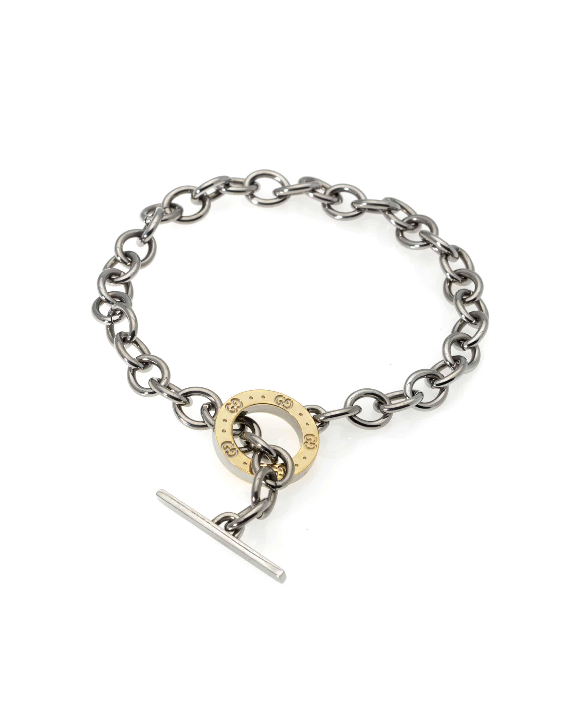 Gucci Sterling Silver Chain Bracelet 150318J8G308030