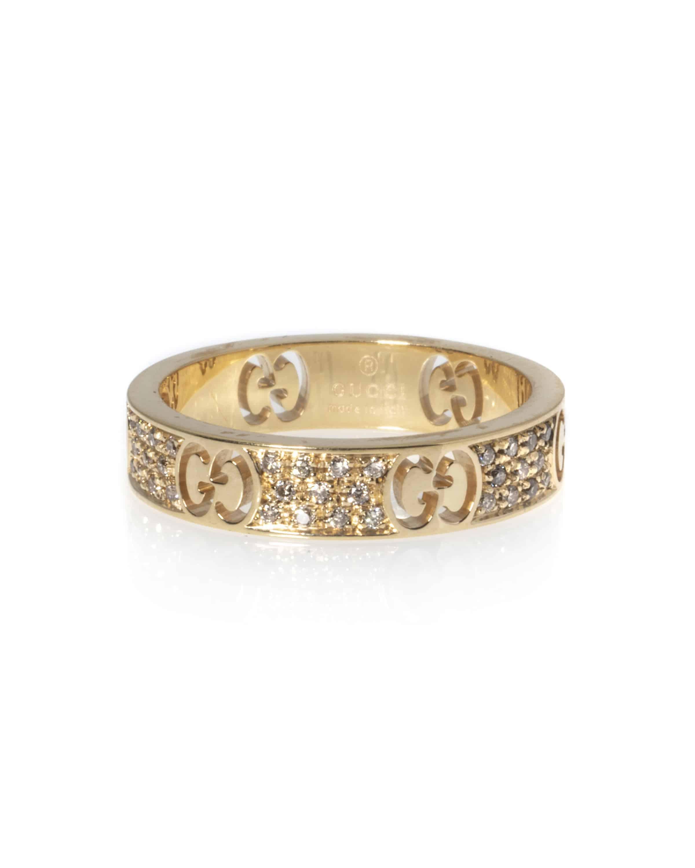 90bdaddbe Gucci Icons 18k Rose Gold Ring Ring Size 6.25.   ShopWorn