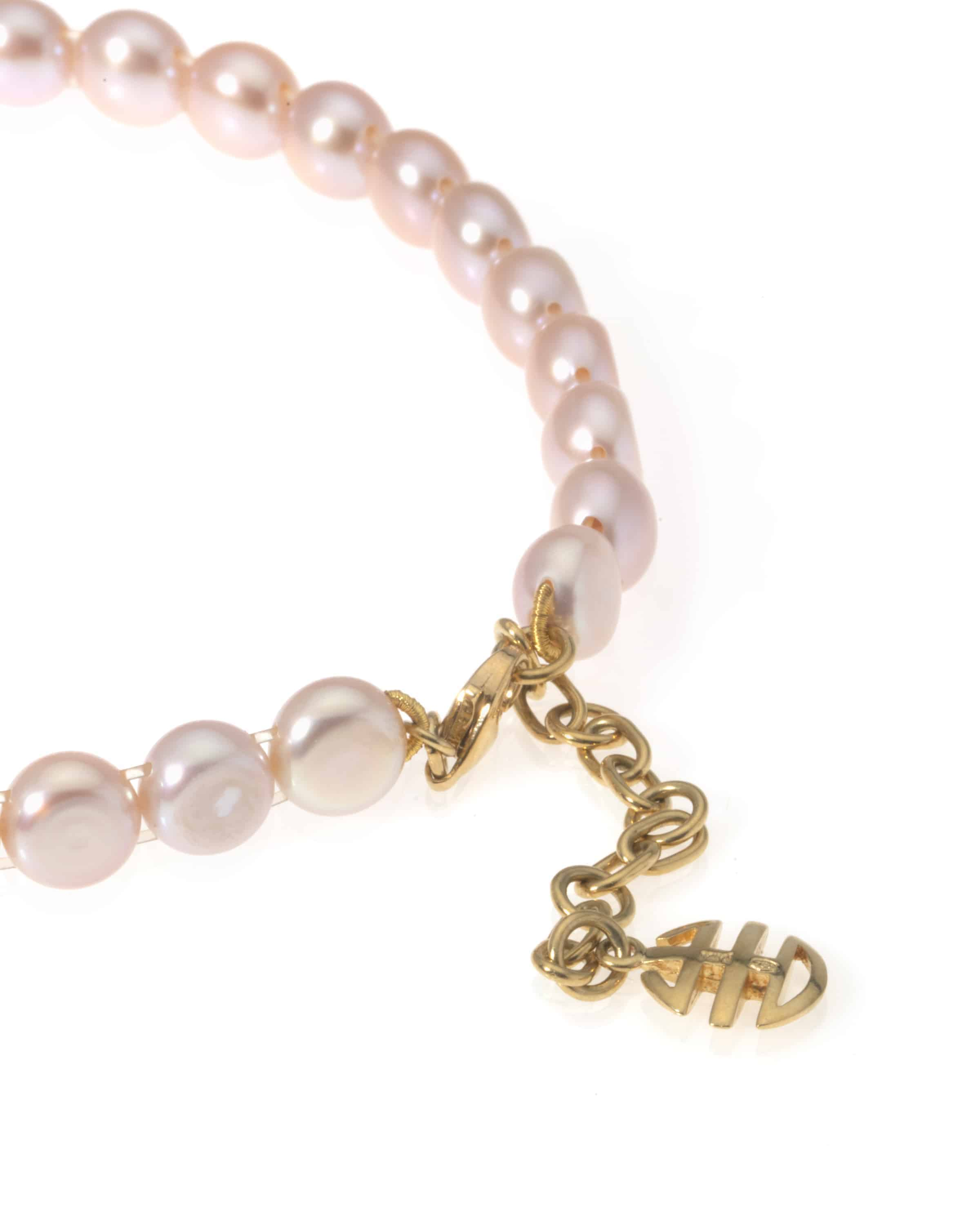 Mimi Milano 18k Yellow Gold Pearl Necklace C023A03-178