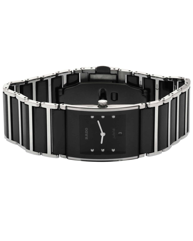 Rado Intergral Diamond Stainless Steel And Ceramic Quartz Ladies Watch R20785752