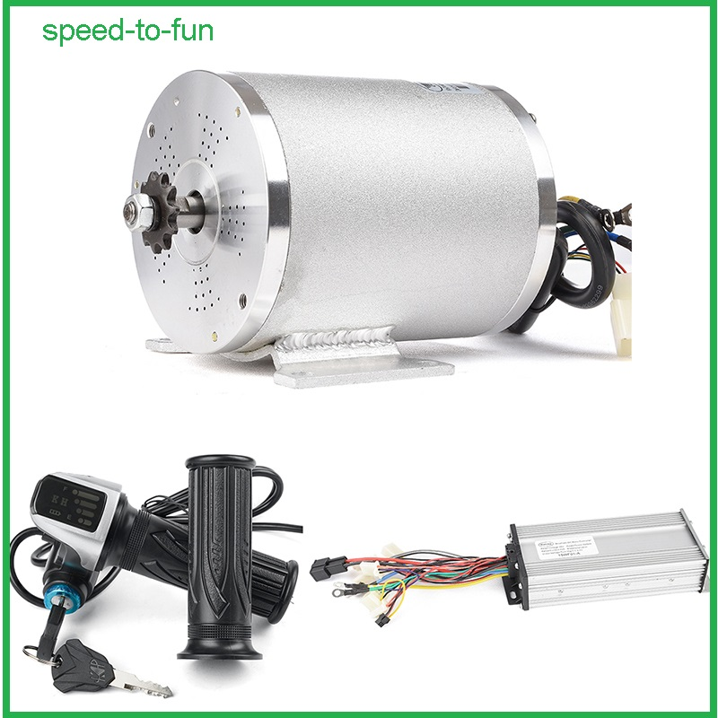 Details about Electric Brushless DC Motor Complete Kit, 48V 2000W 4300RPM  High Speed Motor