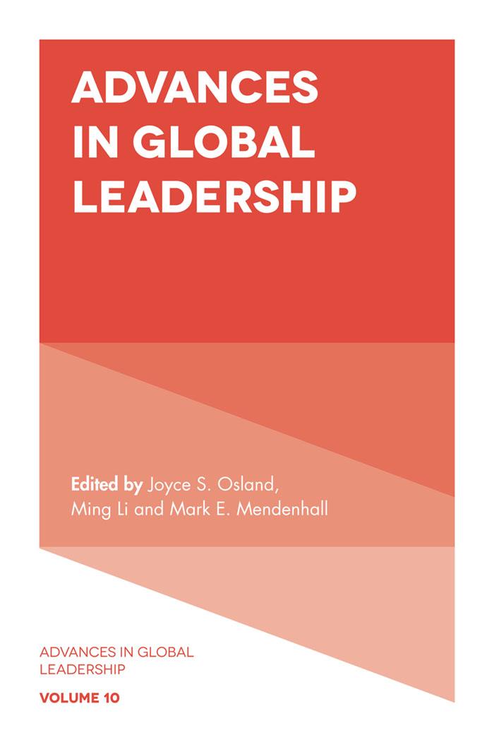 Book cover for Advances in Global Leadership a book by Joyce S. Osland, Mark E. Mendenhall, Ming  Li