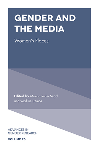 Book cover for Gender and the Media:  Women's Places a book by Marcia Texler Segal, Vasilikie  Demos