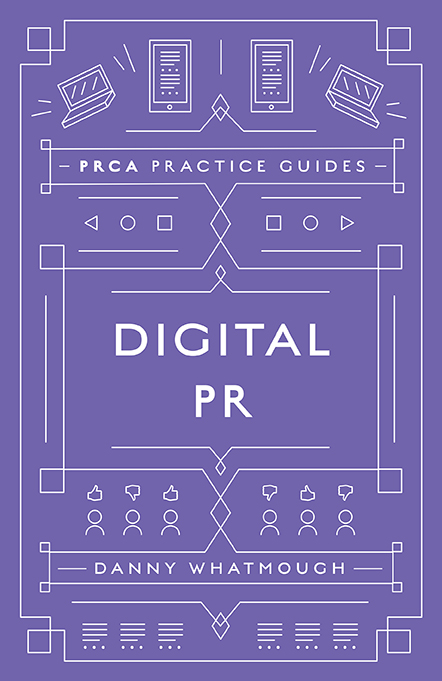 Book cover for Digital PR a book by Danny  Whatmough