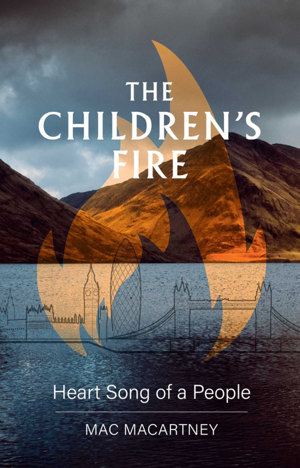 Book cover for The Children's Fire:  Heart song of a people a book by Mac  Macartney