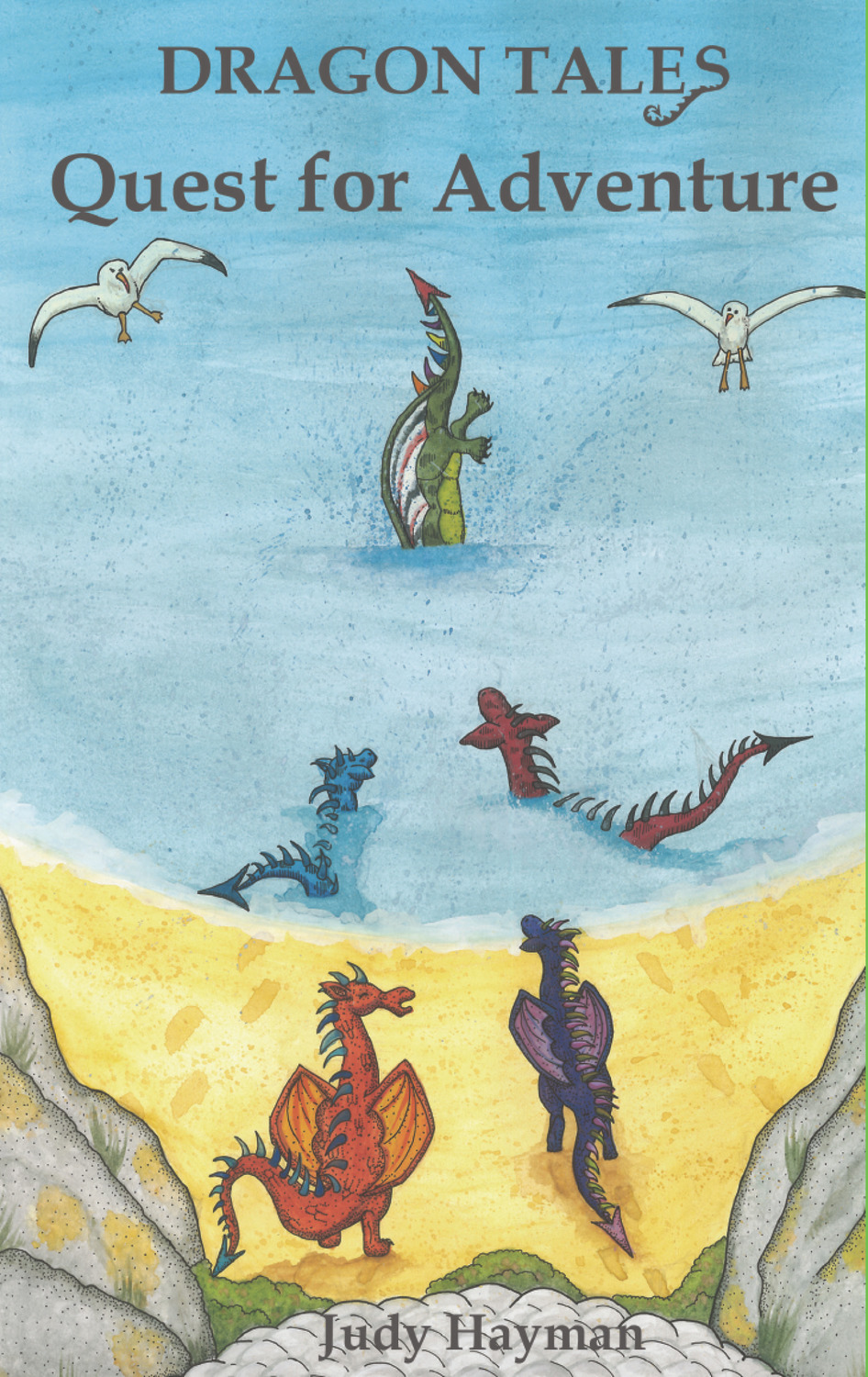 Book cover for Quest for Adventure a book by Caroline  Wolfe-Murray, Judy  Hayman