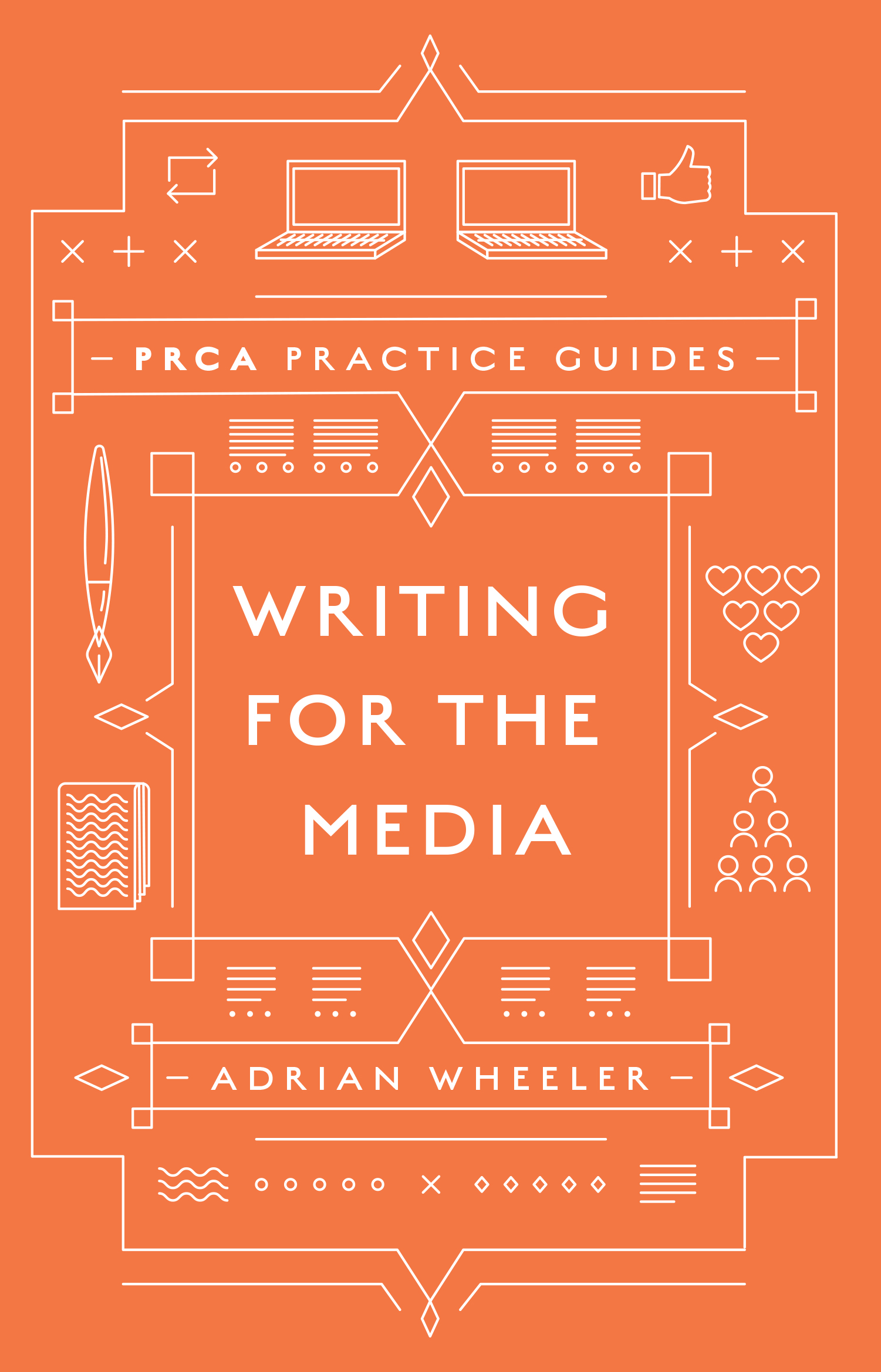 Book cover for Writing for the Media, a book by Adrian  Wheeler