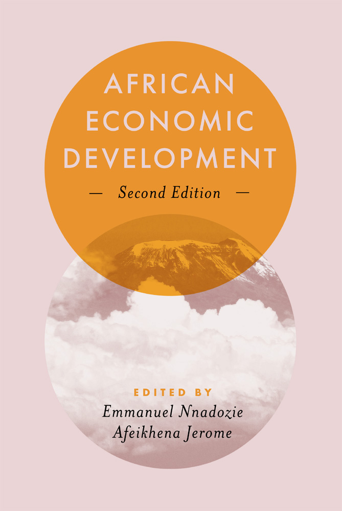 Book cover for African Economic Development a book by Afeikhena Jerome, Emmanuel Nnadozie