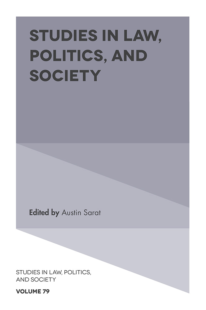 Studies in Law, Politics, and Society, Vol.79