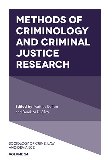 Book cover for Methods of Criminology and Criminal Justice Research a book by Derek M. D. Silva, Mathieu  Deflem