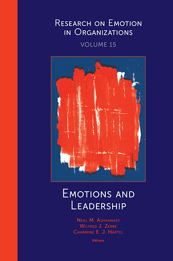 Book cover for Emotions and Leadership a book by Charmine E. J. Härtel, Neal M. Ashkanasy, Wilfred J. Zerbe