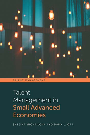 Book cover for Talent Management in Small Advanced Economies a book by Snejina  Michailova, Dana L. Ott