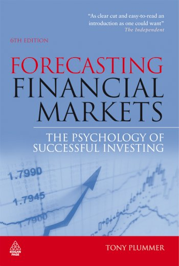 Book cover for Forecasting Financial Markets:  The Psychology of Successful Investing a book by Tony  Plummer