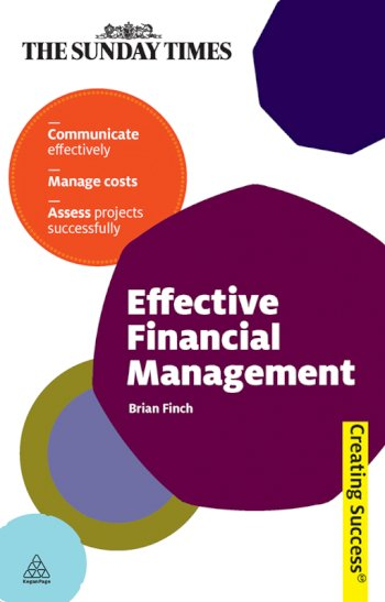 Book cover for Effective Financial Management, a book by Brian  Finch