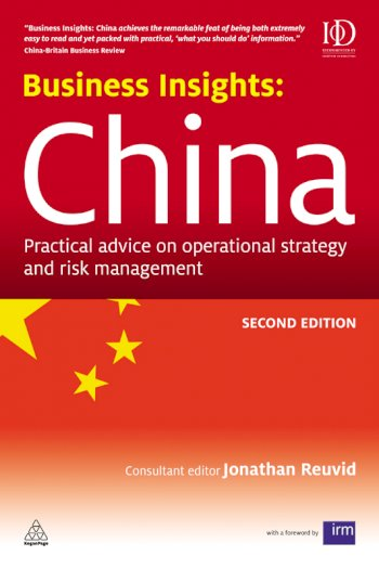 Book cover for Business Insights:  China a book by Jonathan  Reuvid