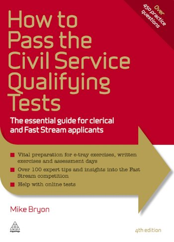 Book cover for How to Pass the Civil Service Qualifying Tests:  The Essential Guide for Clerical and Fast Stream Applicants a book by Mike  Bryon