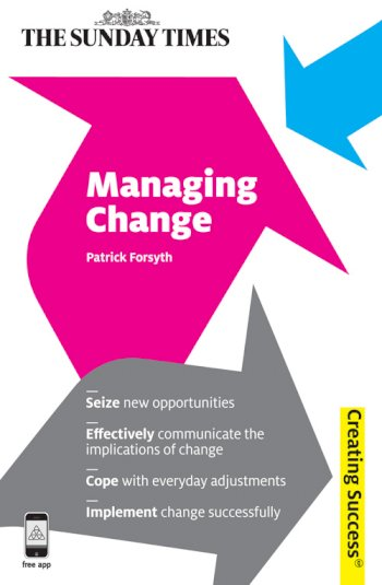 Book cover for Managing Change a book by Patrick  Forsyth