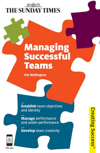 Book cover for Managing Successful Teams a book by Pat  Wellington