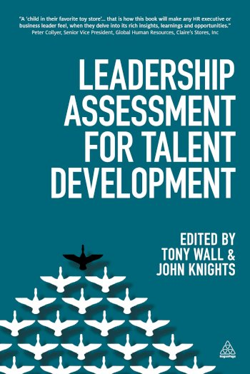 Book cover for Leadership Assessment for Talent Development a book by Tony  Wall, John  Knights
