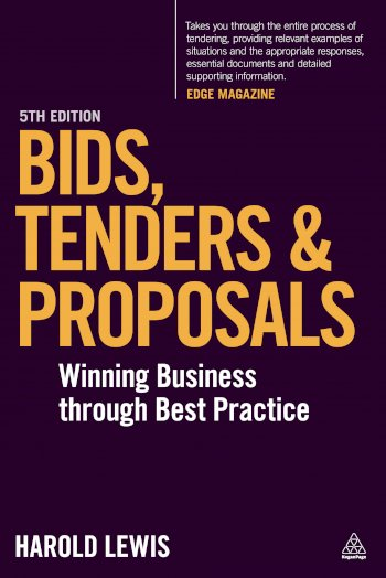 Book cover for Bids, Tenders and Proposals:  Winning Business Through Best Practice a book by Harold  Lewis