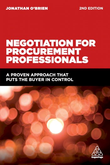 Book cover for Negotiation for Procurement Professionals:  A Proven Approach that Puts the Buyer in Control a book by Jonathan  O'Brien