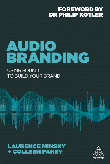 Book cover for Audio Branding:  Using Sound to Build Your Brand a book by Laurence  Minsky, Colleen  Fahey