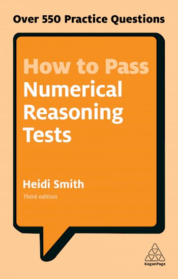 Book cover for How to Pass Numerical Reasoning Tests:  Over 550 Practice Questions a book by Heidi  Smith