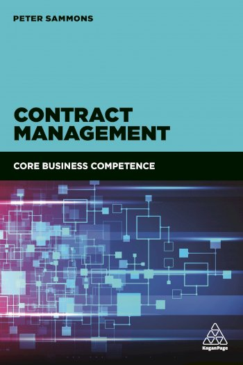 Book cover for Contract Management:  Core Business Competence, a book by Peter  Sammons