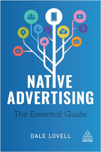 Book cover for Native Advertising:  The Essential Guide a book by Dale  Lovell