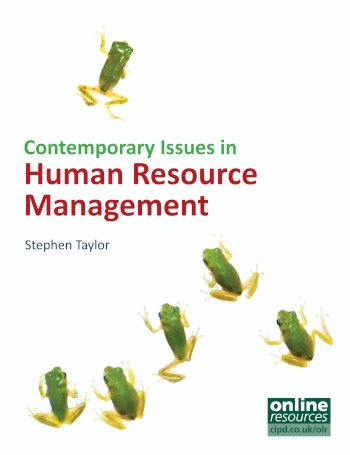 Book cover for Contemporary Issues in Human Resource Management a book by Stephen  Taylor