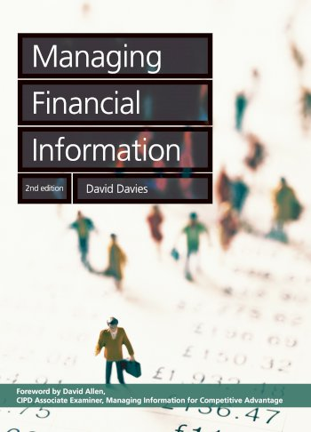 Book cover for Managing Financial Information a book by David  Davies