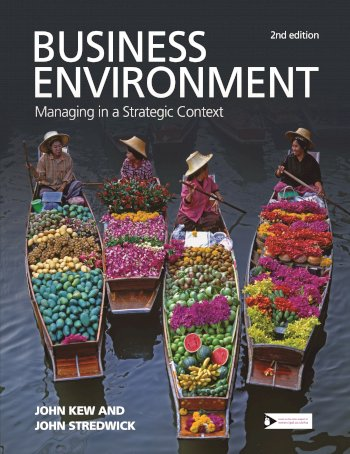 Book cover for Business Environment:  Managing in a Strategic Context a book by John  Kew, John  Stredwick