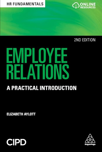 Book cover for Employee Relations:  A Practical Introduction a book by Elizabeth  Aylott