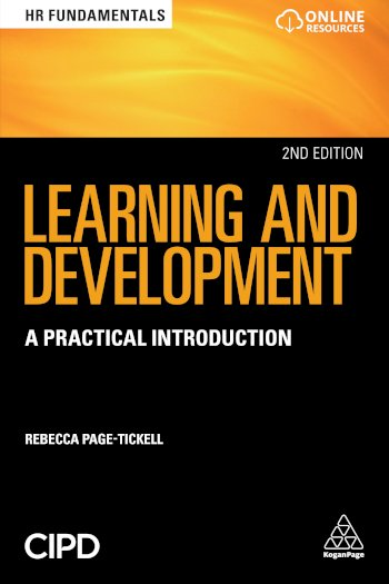 Book cover for Learning and Development:  A Practical Introduction a book by Rebecca  PageTickell