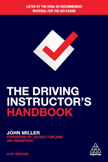 Book cover for The Driving Instructor's Handbook a book by John  Miller