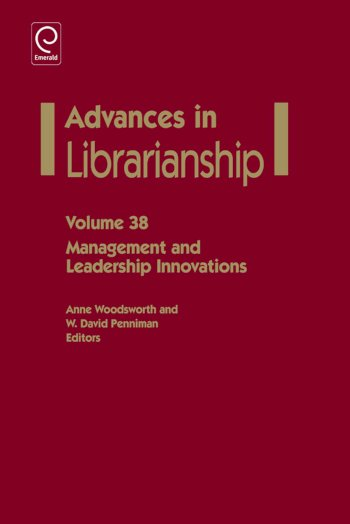 Book cover for Management And Leadership Innovations a book by Anne  Woodsworth, W. David Penniman