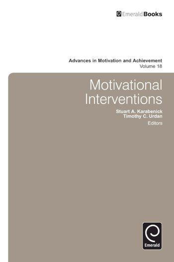 Book cover for Motivational Interventions a book by Stuart  Karabenick, Timothy C. Urdan