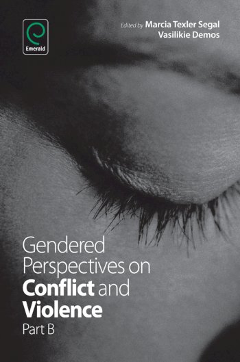 Book cover for Gendered Perspectives on Conflict and Violence a book by Vasilikie  Demos, Marcia Texler Segal