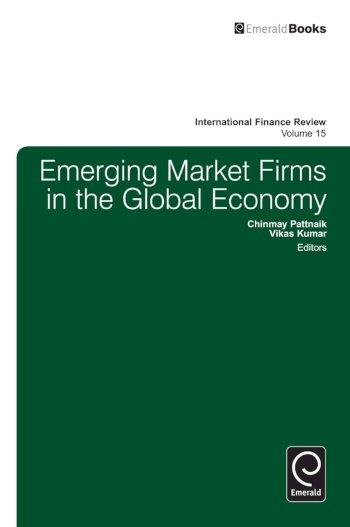 Book cover for Emerging Market Firms in the Global Economy a book by Chinmay  Pattnaik, Vikas  Kumar