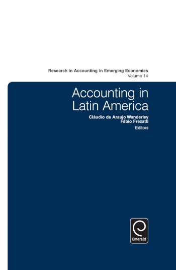 Book cover for Accounting in Latin America a book by Claudio  Wanderley, Fabio  Frezatti