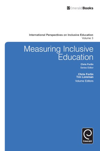 Book cover for Measuring Inclusive Education a book by Chris  Forlin, Tim  Loreman