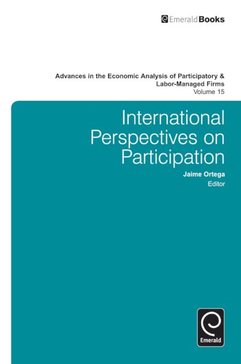 Book cover for International Perspectives on Participation a book by Jaime  Ortega
