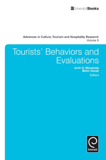 Book cover for Tourists' Behaviors and Evaluations a book by Arch G. Woodside, Metin  Kozak
