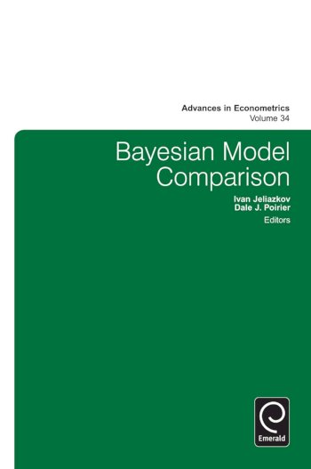 Book cover for Bayesian Model Comparison a book by Ivan  Jeliazkov, Dale J. Poirier