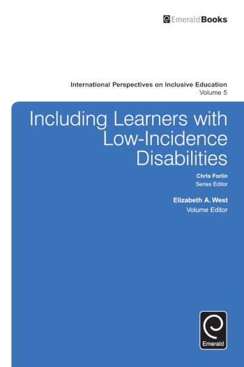 Book cover for Including Learners with Low-Incidence Disabilities a book by Elizabeth A. West